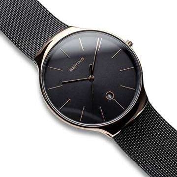 Bering Unisex Erwachsene Analog Quarz Uhr mit Edelstahl Armband 13338-262 - 3