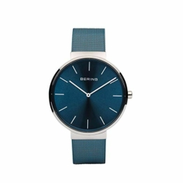 BERING Unisex Erwachsene Analog Quarz Uhr mit Edelstahl Armband 16540-308 - 1