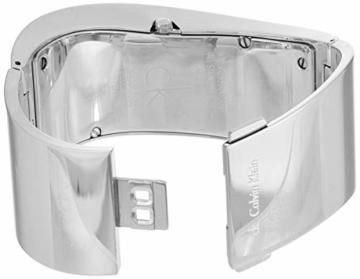 Calvin Klein Damen Analog Quarz Uhr mit Edelstahl Armband K1T23101 - 2