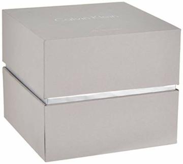 Calvin Klein Damen Analog Quarz Uhr mit Edelstahl Armband K1T23101 - 5