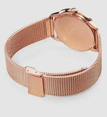 Calvin Klein Damen Analog Quarz Uhr mit Edelstahl Armband K3M22621 - 2