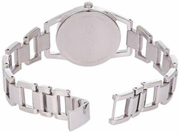 Calvin Klein Damen Analog Quarz Uhr mit Edelstahl Armband K7L23146 - 2