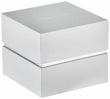 Calvin Klein Damen Analog Quarz Uhr mit Edelstahl Armband K7L23146 - 5