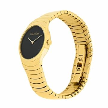 Calvin Klein Damen Analog Quarz Uhr mit Edelstahl Armband K8A23541 - 2