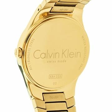 Calvin Klein Damen Analog Quarz Uhr mit Edelstahl Armband K8A23541 - 7