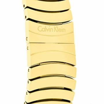 Calvin Klein Damen Analog Quarz Uhr mit Edelstahl Armband K8A23541 - 8