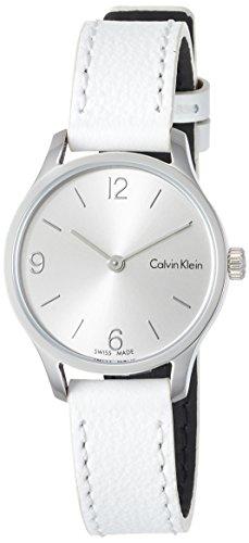 Calvin Klein Damen Analog Quarz Uhr mit Leder Armband K7V231L6 - 1