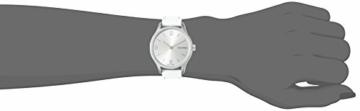 Calvin Klein Damen Analog Quarz Uhr mit Leder Armband K7V231L6 - 4