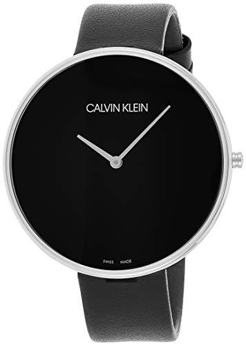 Calvin Klein Damen Analog Quarz Uhr mit Leder Armband K8Y231C1 - 1