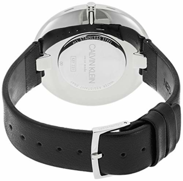 Calvin Klein Damen Analog Quarz Uhr mit Leder Armband K8Y231C1 - 2