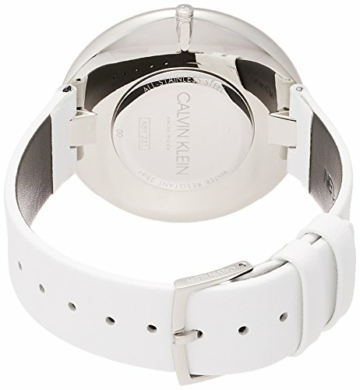 Calvin Klein Damen Analog Quarz Uhr mit Leder Armband K8Y231L6 - 2