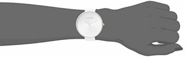 Calvin Klein Damen Analog Quarz Uhr mit Leder Armband K8Y231L6 - 4