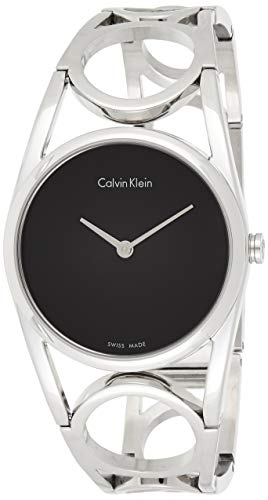 Calvin Klein Damen Digital Quarz Uhr mit Edelstahl Armband K5U2M141 - 1