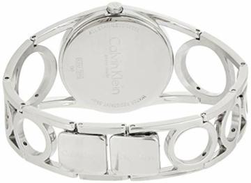 Calvin Klein Damen Digital Quarz Uhr mit Edelstahl Armband K5U2M141 - 2