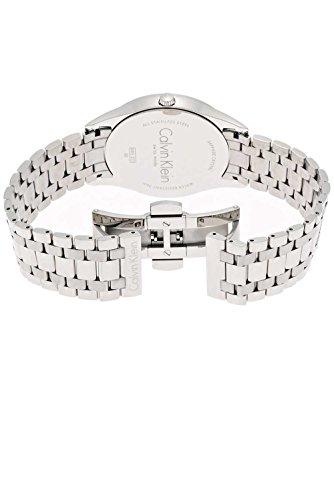 Calvin Klein Herren Analog Quarz Smart Watch Armbanduhr mit Edelstahl Armband K4N21141 - 2
