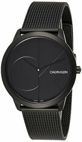 Calvin Klein Herren Analog Quarz Uhr mit Edelstahl Armband K3M514B1 - 1