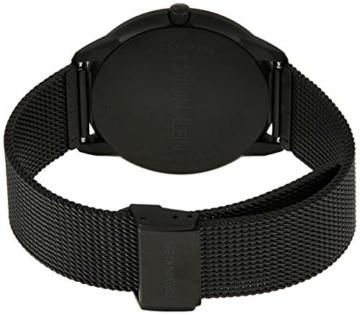 Calvin Klein Herren Analog Quarz Uhr mit Edelstahl Armband K3M514B1 - 2