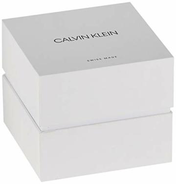 Calvin Klein Herren Analog Quarz Uhr mit Edelstahl Armband K3M514B1 - 4
