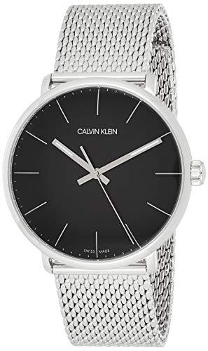 Calvin Klein Herren Analog Quarz Uhr mit Edelstahl Armband K8M21121 - 1