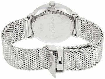 Calvin Klein Herren Analog Quarz Uhr mit Edelstahl Armband K8M21121 - 2