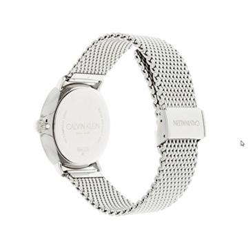 Calvin Klein Herren Analog Quarz Uhr mit Edelstahl Armband K8M21121 - 4