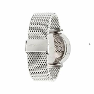 Calvin Klein Herren Analog Quarz Uhr mit Edelstahl Armband K8M21121 - 5
