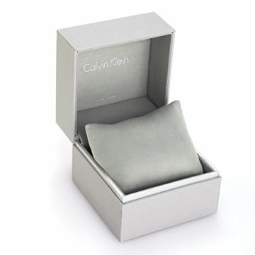 Calvin Klein Herren Analog Quarz Uhr mit Edelstahl Armband K8M21121 - 8