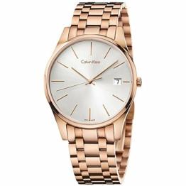 Calvin Klein Herren-Armbanduhr Analog Quarz Edelstahl K4N21646 - 1