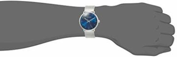 Calvin Klein Unisex Erwachsene Analog-Digital Quarz Uhr mit Edelstahl Armband K8M2112N - 5