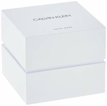 Calvin Klein Unisex Erwachsene Analog-Digital Quarz Uhr mit Edelstahl Armband K8M2112N - 6