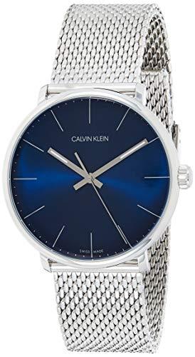 Calvin Klein Unisex Erwachsene Analog-Digital Quarz Uhr mit Edelstahl Armband K8M2112N - 1