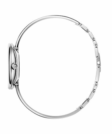 Calvin Klein Unisex Erwachsene Analog Quarz Uhr mit Edelstahl Armband K4E2N116 - 3