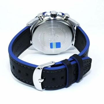 Casio Edifice Herren Chronograph Quarz Armbanduhr EFR-566, Blau - 2