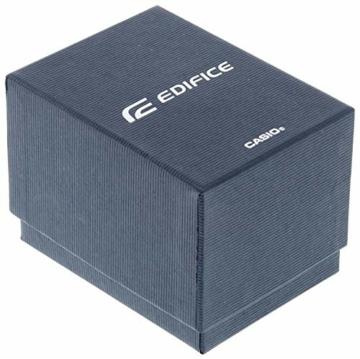 Casio Edifice Herren Chronograph Quarz Armbanduhr EFR-566, Blau - 6