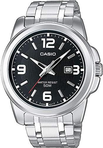 Casio Herren Analog Quarz mit Edelstahl Armbanduhr MTP1314PD1A - 1