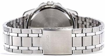 Casio Herren Analog Quarz mit Edelstahl Armbanduhr MTP1314PD1A - 2