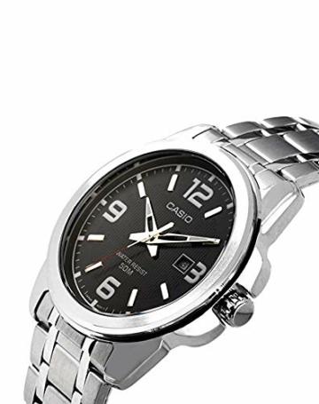 Casio Herren Analog Quarz mit Edelstahl Armbanduhr MTP1314PD1A - 3