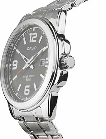 Casio Herren Analog Quarz mit Edelstahl Armbanduhr MTP1314PD1A - 5