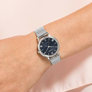 CITIZEN Damen Analog Eco-Drive Uhr mit Edelstahl Armband EM0571-83L - 4