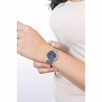 CITIZEN Damen Analog Eco-Drive Uhr mit Edelstahl Armband EM0571-83L - 5