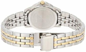CITIZEN Damen Analog Quarz Uhr mit Edelstahl Armband EQ0608-55AE - 2