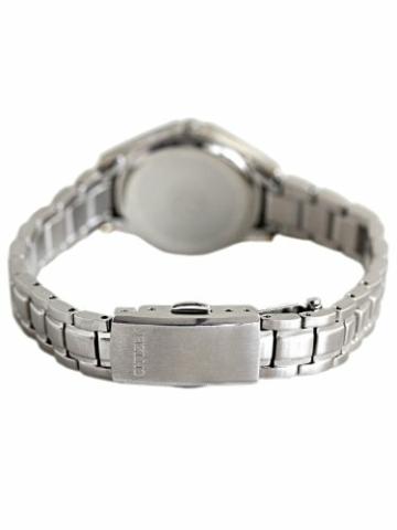 Citizen Damen Analog Quarz Uhr mit Edelstahl Armband EW3140-51AE - 3