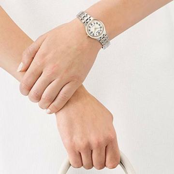 CITIZEN Damen Analog Solar Uhr mit Edelstahl Armband EW2486-87A - 5