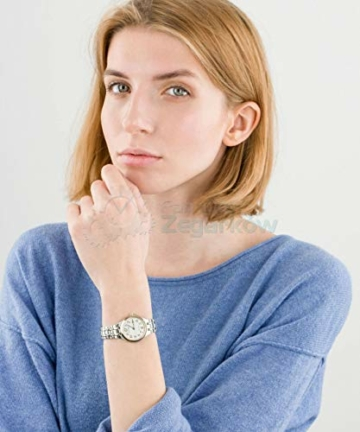 CITIZEN Damen Analog Solar Uhr mit Edelstahl Armband EW2486-87A - 6