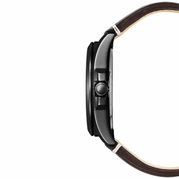 Citizen Herren Analog Eco-Drive Uhr mit Leder Armband AW7057-18H - 3