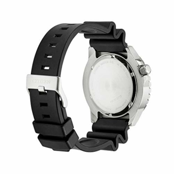 CITIZEN Herren Analog Mechanisch Uhr mit Kunststoff Armband NH8380-15EE - 4