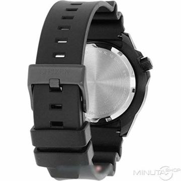 CITIZEN Herren Analog Mechanisch Uhr mit Kunststoff Armband NH8385-11EE - 2