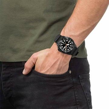 CITIZEN Herren Analog Mechanisch Uhr mit Kunststoff Armband NH8385-11EE - 6