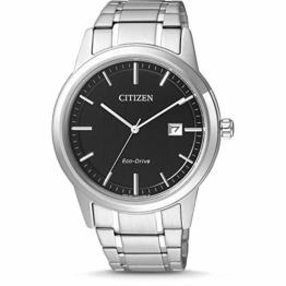 CITIZEN Herren Analog Quarz Uhr mit Edelstahl Armband AW1231-58E - 1