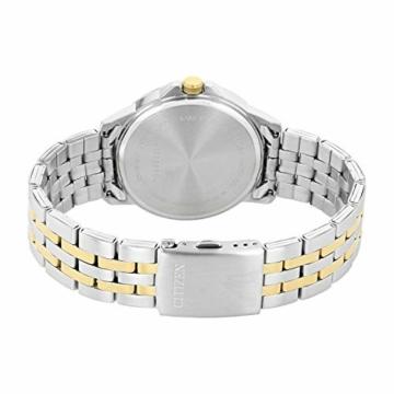 CITIZEN Herren Analog Quarz Uhr mit Edelstahl Armband BF2018-52EE - 2